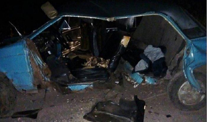 Встрашной аварии под Тайшетом погиб 14-летний подросток
