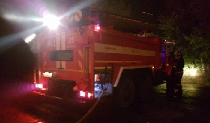 ВЧунском районе напожаре погибла 88-летняя женщина