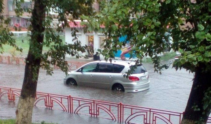 Иркутск снова превратился вВенецию (Видео)
