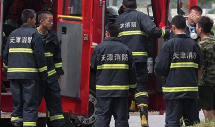 Напожаре вкитайском Харбине погибли 18человек