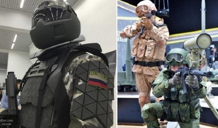 Конструкторы протестировали активный экзоскелет для российской армии (Видео)
