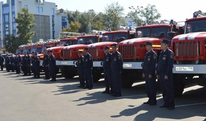 13новых пожарных автомобилей уехали вотдаленные населенные пункты Иркутской области