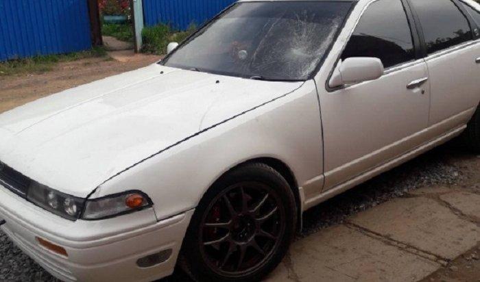 ВБратске водитель Nissan Cefiro сбил насмерть пешехода иуехал сместа ДТП
