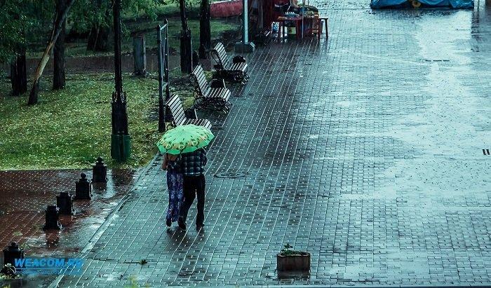 Неустойчивая погода ждет жителей Иркутска до1сентября