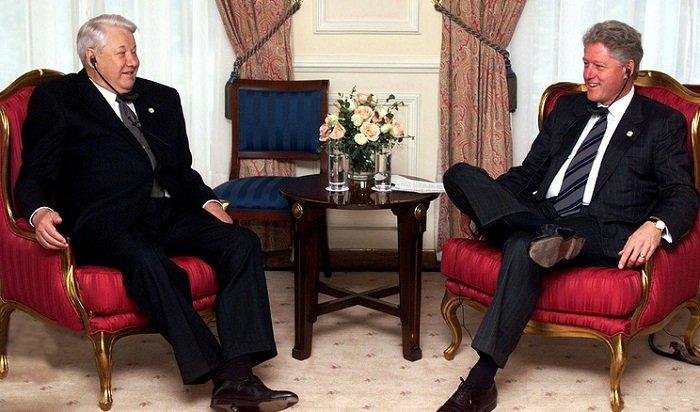 ВСША опубликовали расшифровку разговора Ельцина иКлинтона оПутине