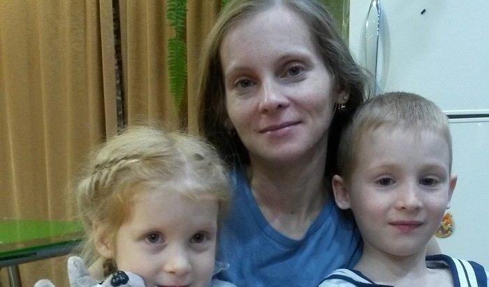 Матери двоих детей изИркутска срочно требуется помощь