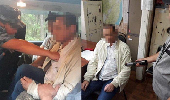 ВХабаровском крае полицейские вывезли влес ипытали водителя «Почты России»