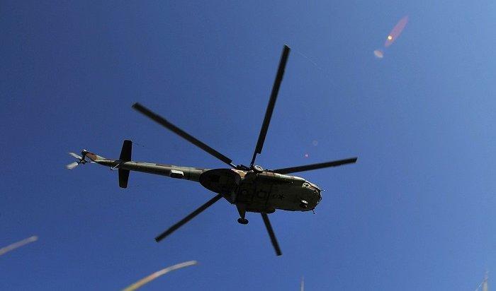 Вертолет Ми-8пропал вИркутской области