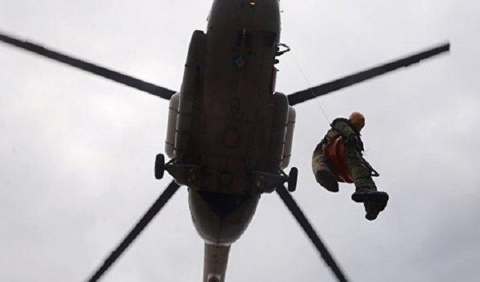 Пропавший вПриангарье Ми-8нашли разрушенным
