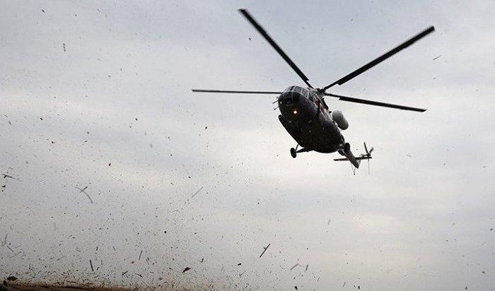 МАК иРостранснадзор расследуют крушение вертолета Ми-8 вКазачинско-Ленском районе