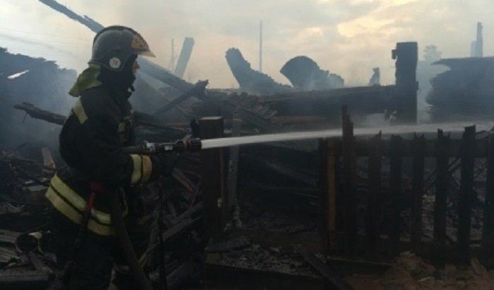 Напожарах вИркутской области погибли 127человек сначала этого года