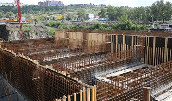 ВИркутске реконструируют очистные сооружения направом берегу