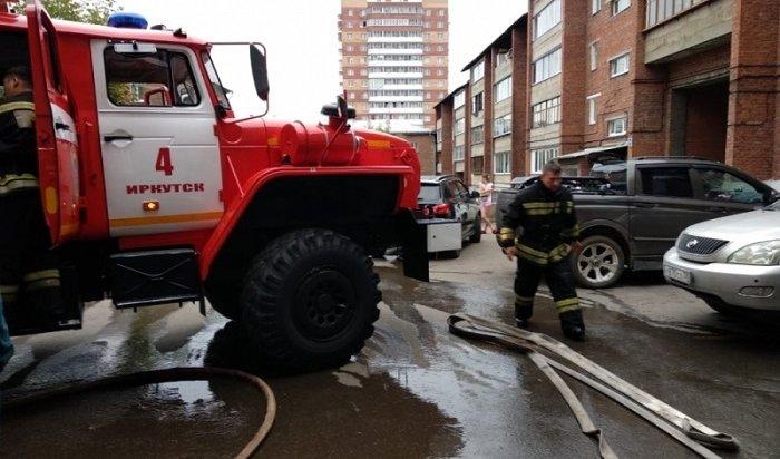 ВИркутске пенсионерка незаметила пожар всобственной квартире