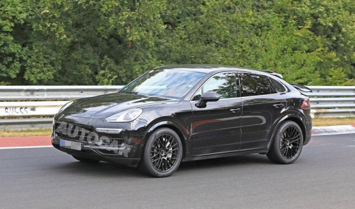 Porsche готовит для Cayenne новый кузов со«спиленной» крышей