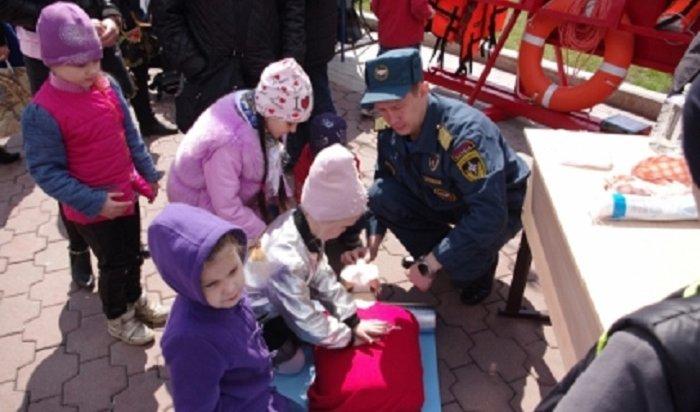 16сентября спасатели Иркутска научат всех желающих приемам спасения исамоспасения