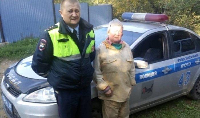 ВИркутском районе сотрудник ГИБДД нашел заблудившуюся сборщицу грибов