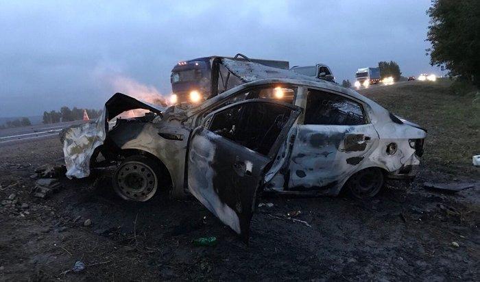 Три человека погибли вдвух крупных ДТП вИркутской области