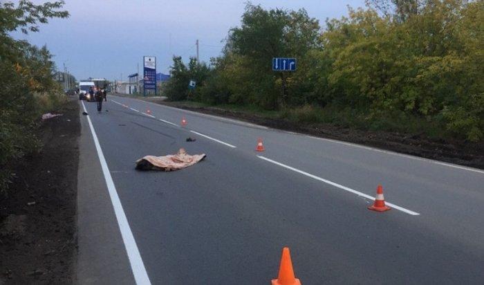 ВОмске водитель фуры встал напути виновника смертельного ДТП,  переехавшего через труп (Видео)