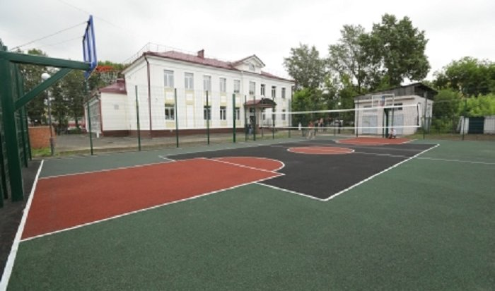 ВИркутске завершают обустройство трех школьных стадионов