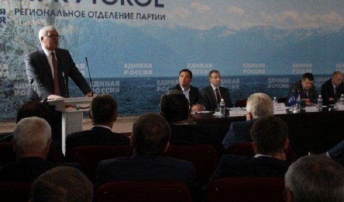 Кандидатуру Сергея Брилки выдвинули всенаторы отИркутской области