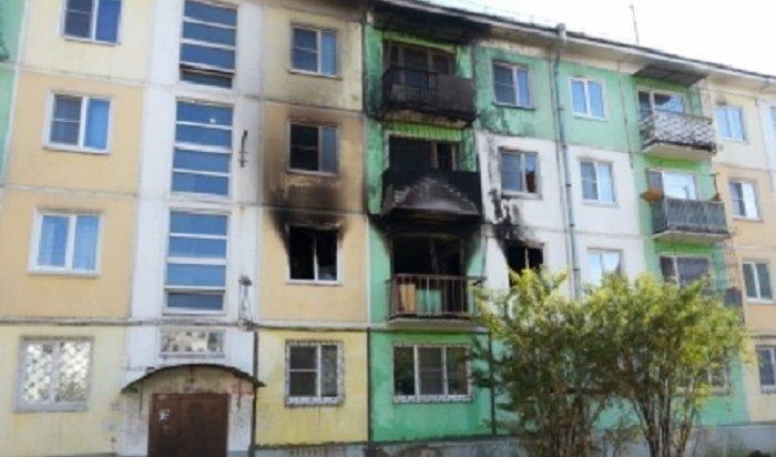 Житель Усолья после ссоры ссожительницей устроил пожар вмногоэтажке