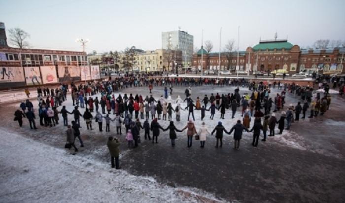 Наострове Юность вИркутске станцуют ёхор 20сентября