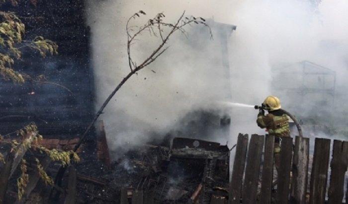 Напожарах вИркутской области погибли 12человек всентябре
