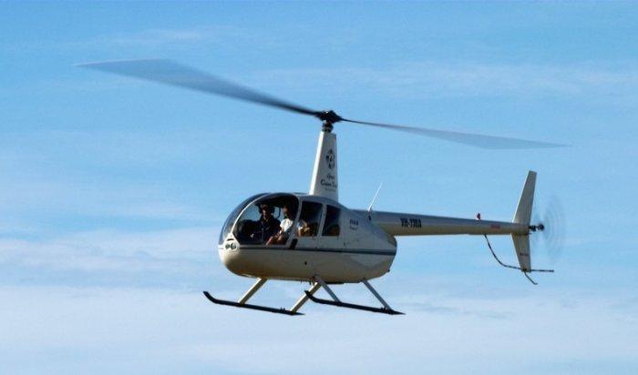 В Иркутской области потерпел крушение вертолёт Robinson