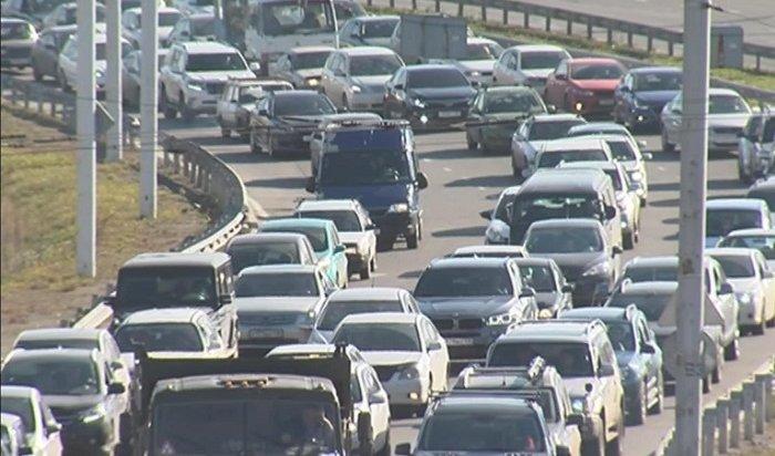 Транспортный коллапс охватил Иркутск напол-октября (Видео)
