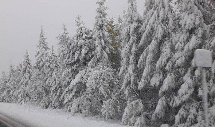 Мокрый снег вИркутске будет идти досубботы