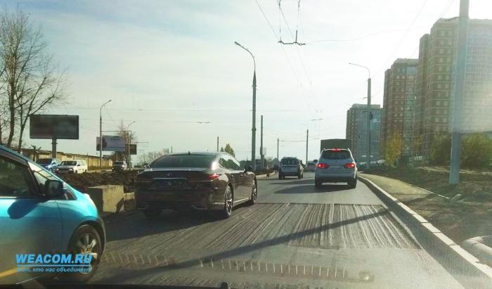 Замминистра дорожного хозяйства Приангарья раскритиковал ремонт наобъездной Первомайский-Университетский