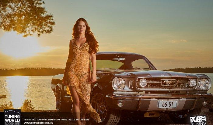 Всети появился календарь спобедительницей немецкого «Мисс Тюнинг 2018»
