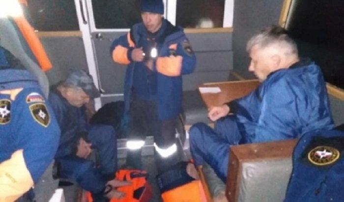Сотрудники МЧС спасли наАнгаре двоих рыбаков