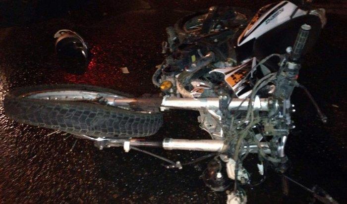 ВАнгарске полицейские ищут очевидцев смертельного ДТП сучастием мотоциклиста (Видео)