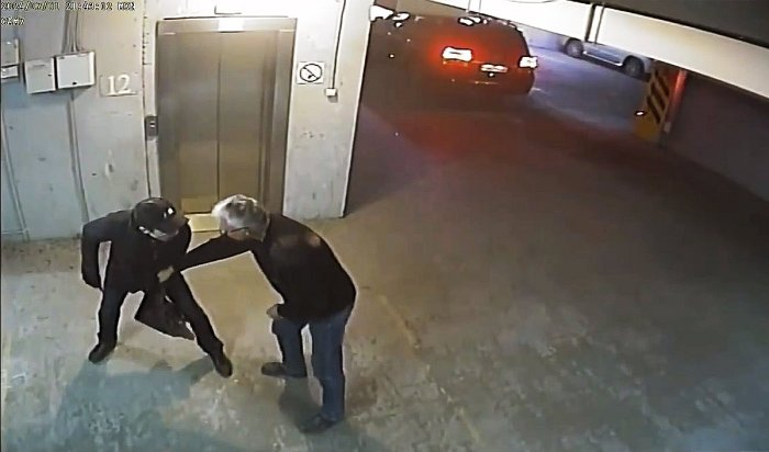 ВИркутске пенсионер МВД обезвредил автоугонщика сножом (Видео)