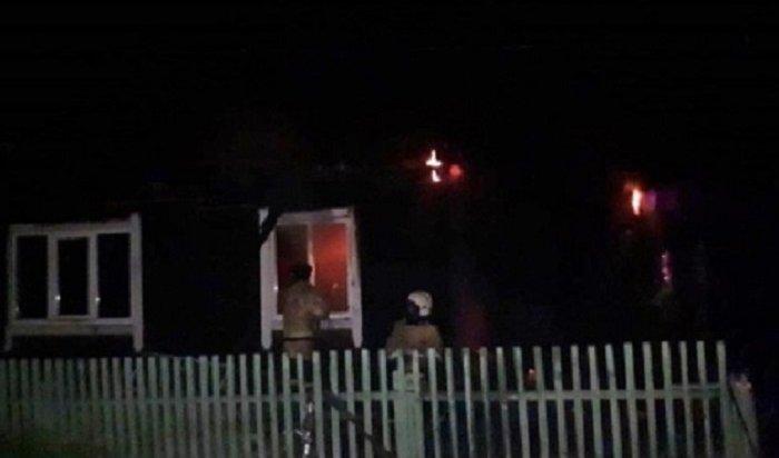 ВЧеремхово напожаре погибла 80-летняя женщина