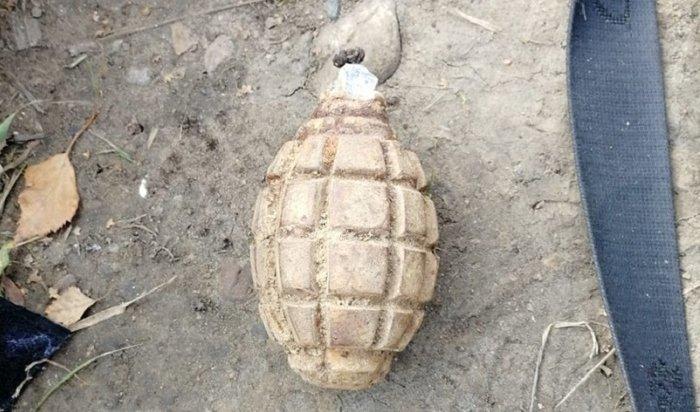 Вмикрорайоне Солнечный нашли гранату времен ВОВ