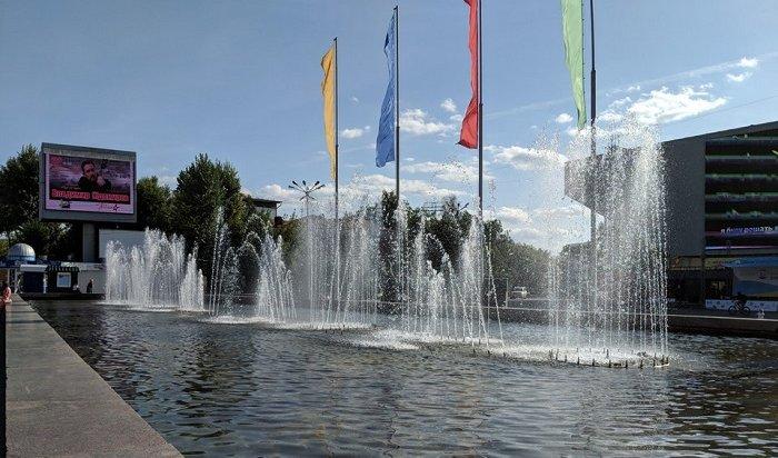 ВИркутске будут отремонтированы фонтаны наБайкальской иЛенина