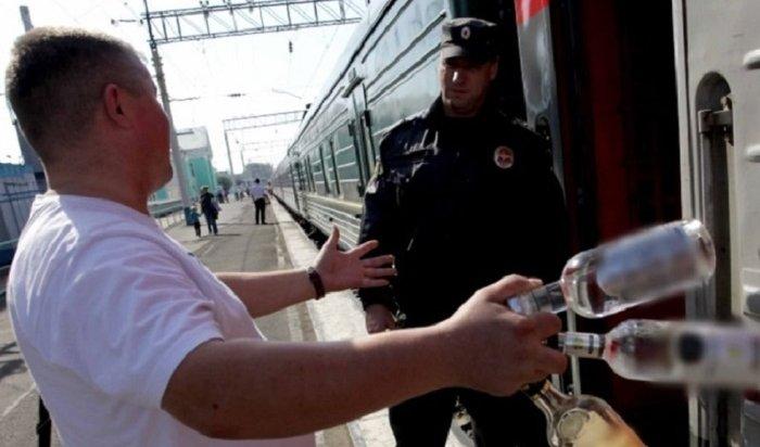 Пьяный пассажир поезда «Адлер-Иркутск» плеснул кипятком в лицо проводнику