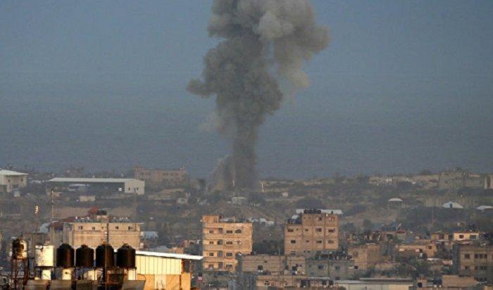 Врезультате израильского авиаудара погибли три палестинских подростка