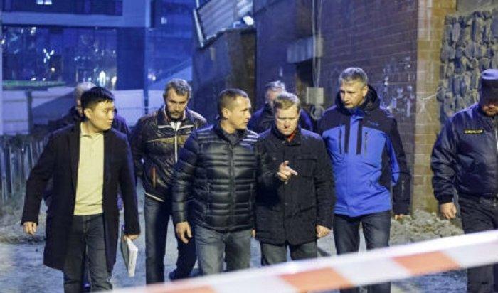 Второе выездное заседание КЧС прошло настроительной площадке вСвердловском округе Иркутска