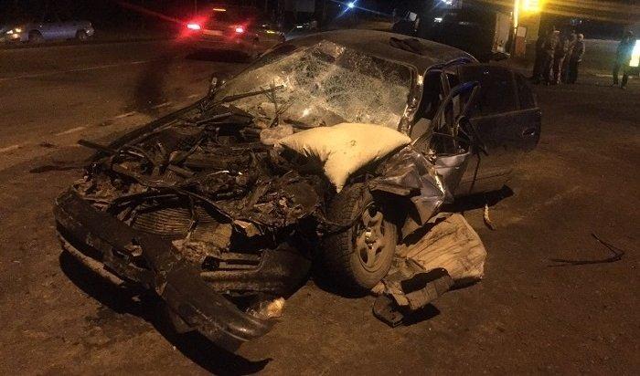 Один человек погиб ичетверо пострадали вДТП вБратском районе