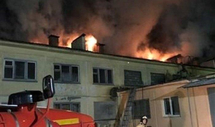 ВАнгарске горел спортивный клуб «Русич»