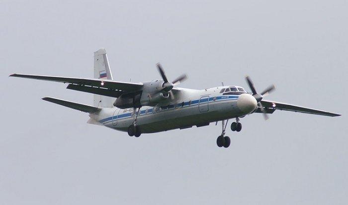 Самолет Ан-24Иркутск— Бодайбо совершил аварийную посадку вБурятии