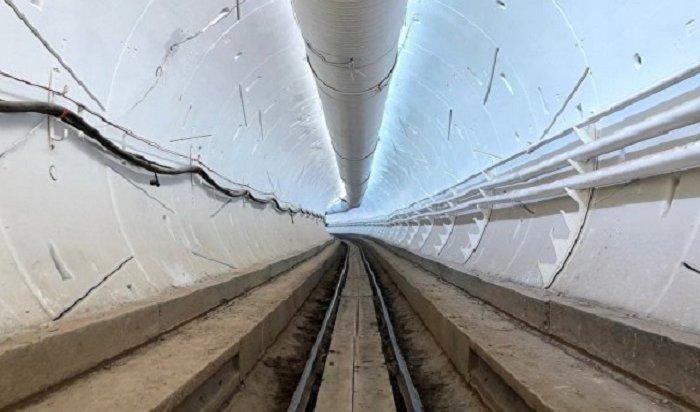 Маск опубликовал видео изскоростного туннеля под Лос-Анджелесом (Видео)