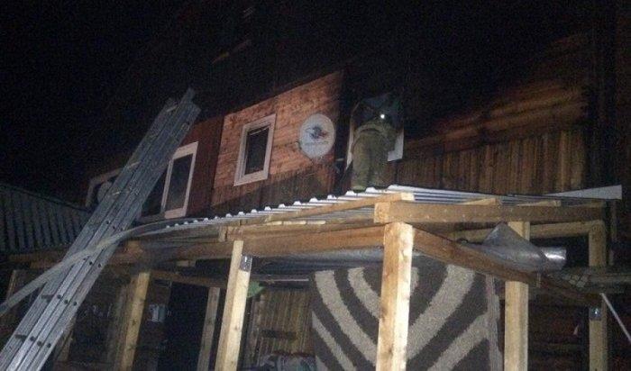 Два крупных пожара произошли вУсть-Куте из-за перебоев вэлектроснабжении