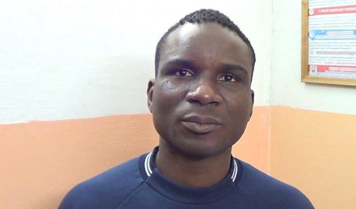 Ангарчане обокрали гражданина Кот-д`Ивуара, предложив ему сделать селфи