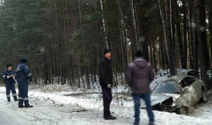 ВДТП под Бирюсинском пострадали двое взрослых имладенец