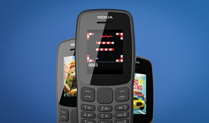 Nokia представила новый кнопочный телефон