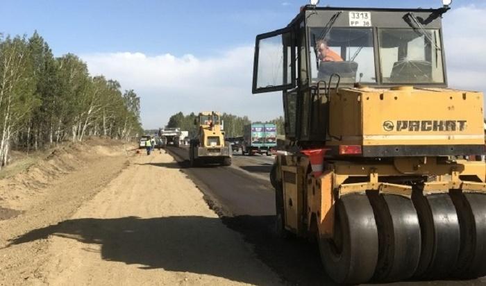 ВПриангарье наремонт истроительство дорог потратили более 9млрд рублей вэтом году